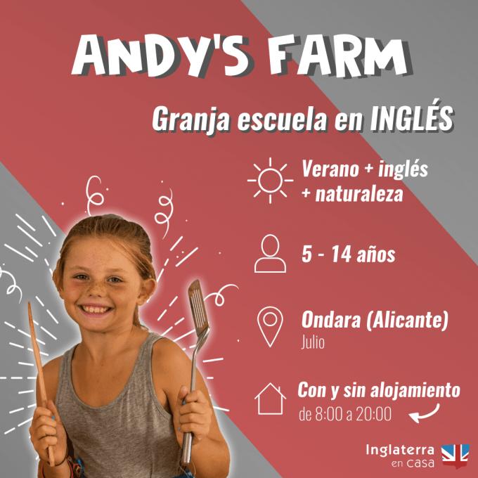 granja escuela en inglés
