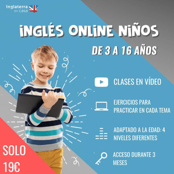 inglés online para niños